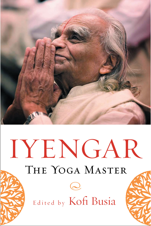 Iyengar: The Yoga Master (front cover)